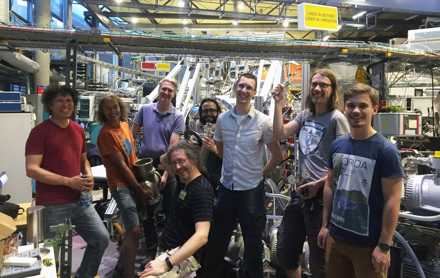 The team at BESSY II synchrotron in Berlin