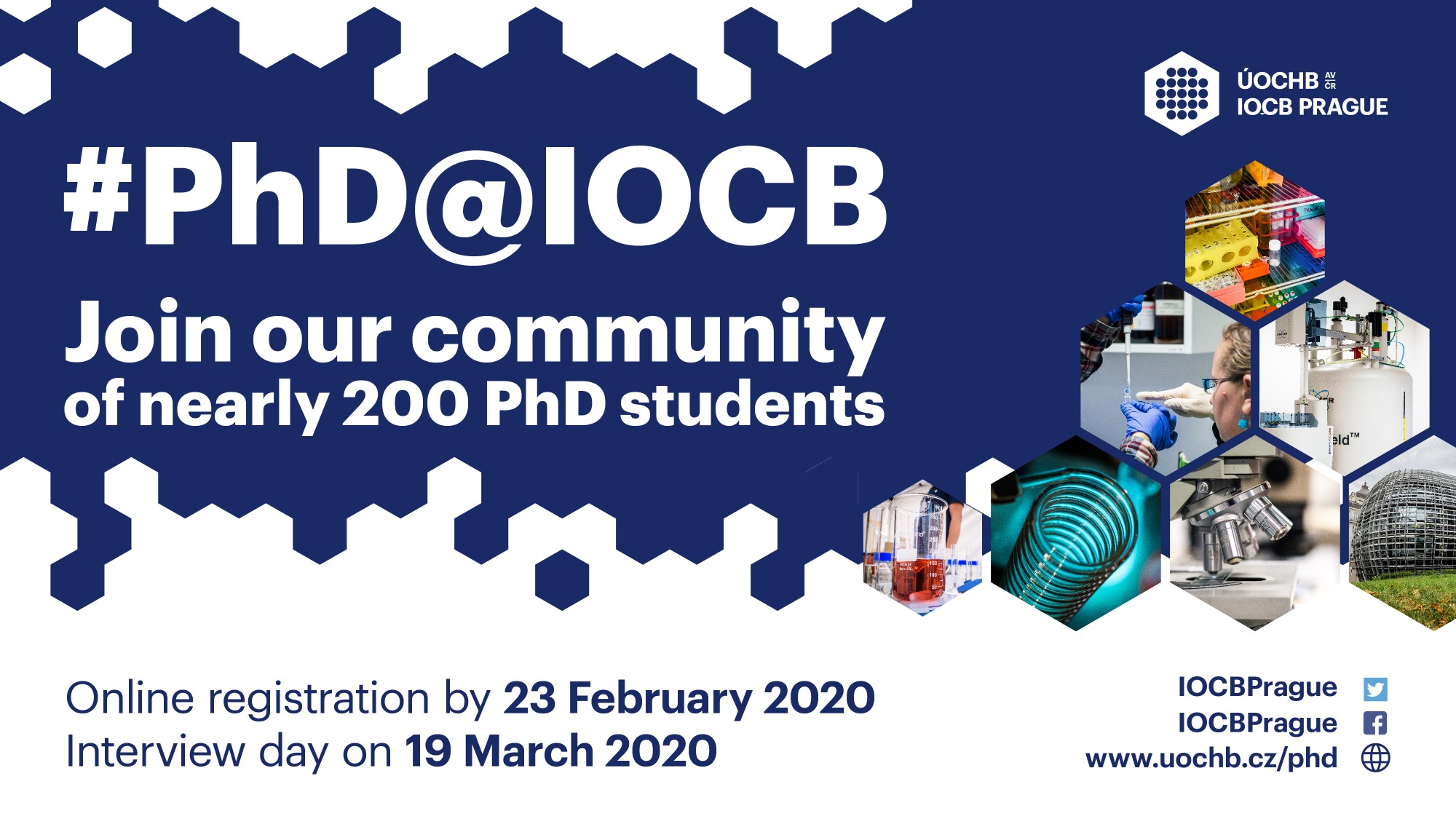 PhD projects at IOCB Prague – Call for Applications 2020