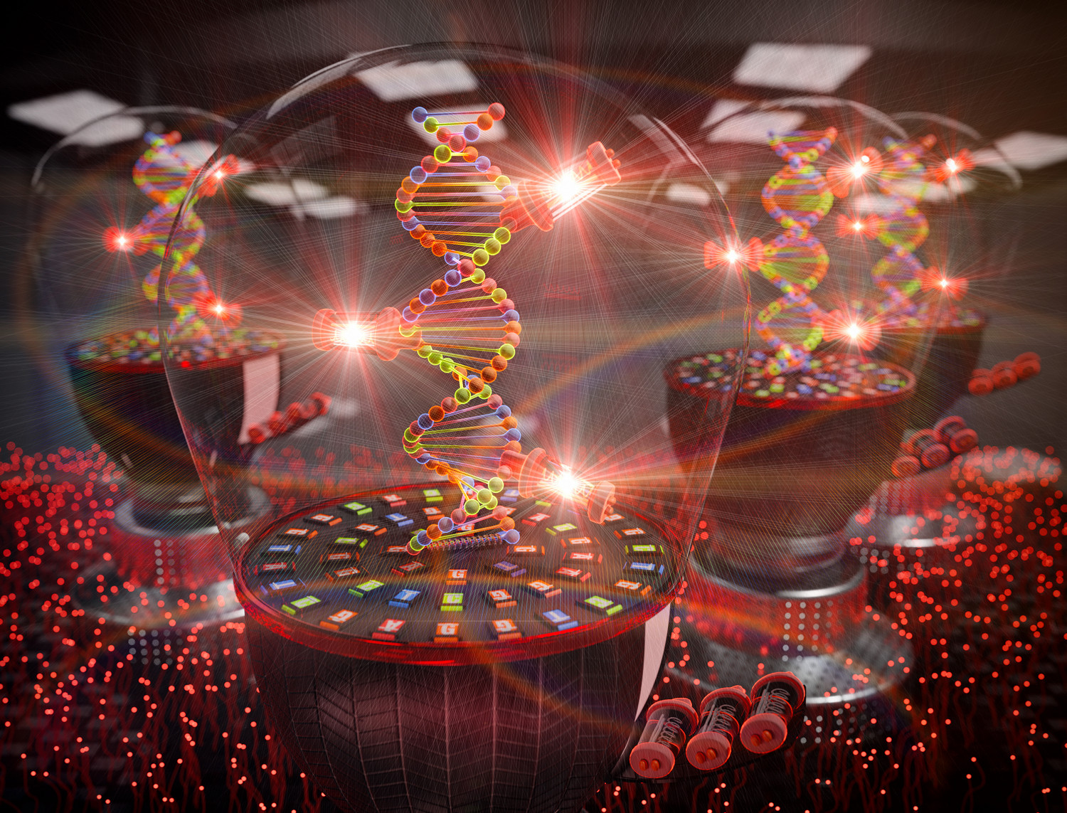 Light-up nucleotide for visualization of DNA synthesis