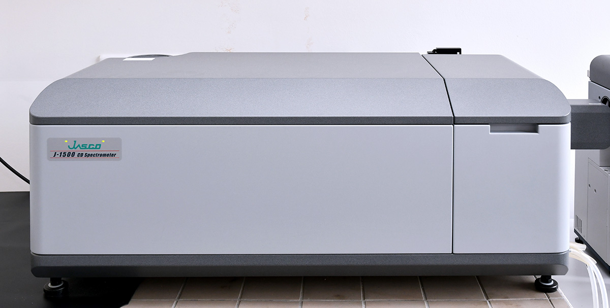 Image of CD Spectropolarimeter Jasco J-1500